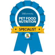 Pet Nutritionist Certification logo